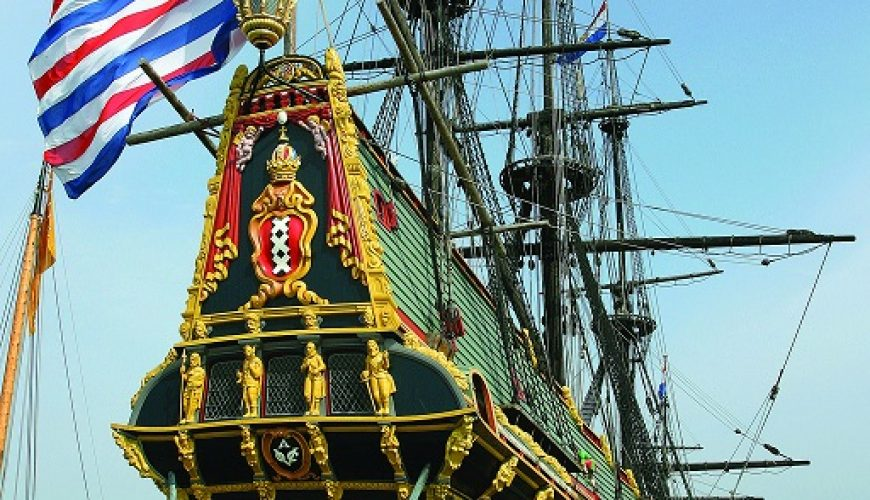 Replica of a Golden Age VOC ship. You can visit it in Lelystad, capital of Flevoland province.
