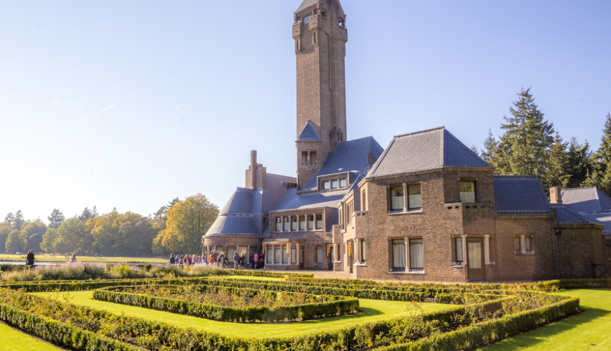 St Hubertus country residence at Veluwe National Park. Renowned for its amazing architecture and design.