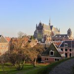 The fortress (Burcht) of Leiden. One of the highlights of the Leiden walking tour.