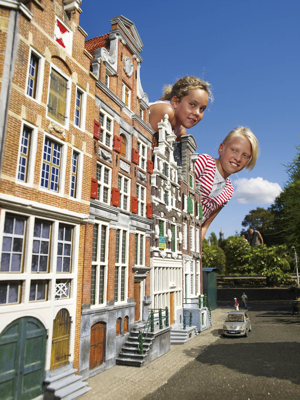Madurodam, miniature park in The Hague. It has all the Holland Highlights concentrated in one park!