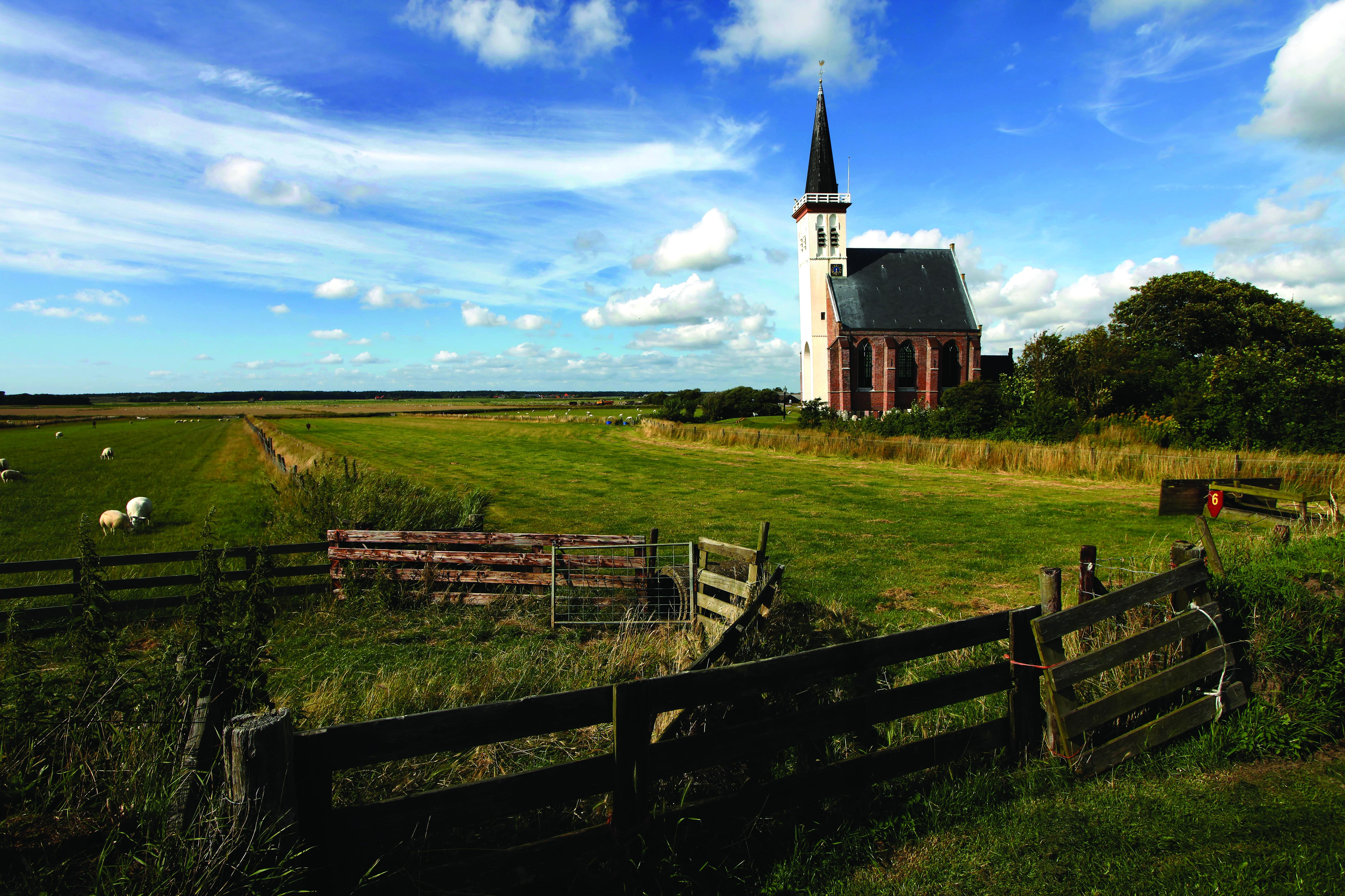 View of Texel, one of the Frisian Islands